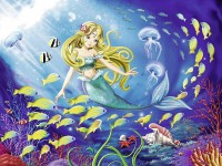 Собирать пазл Little mermaid онлайн
