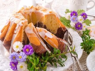 Собирать пазл Marble Cake онлайн