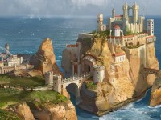 Собирать пазл The bridge to the castle онлайн
