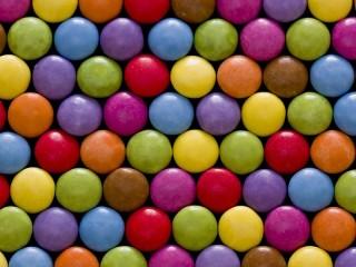Собирать пазл A mosaic of jelly beans онлайн
