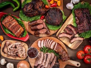Собирать пазл The meat in the range онлайн
