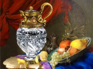 Собирать пазл Still life with a decanter онлайн