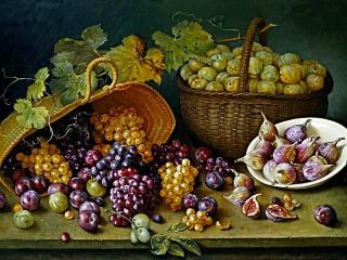 Собирать пазл Still life with berries онлайн