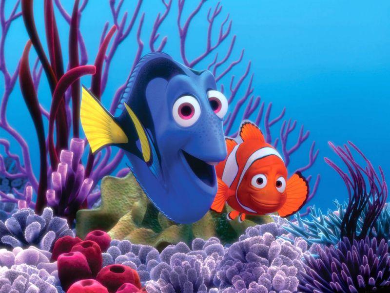 Rompecabezas Recoger rompecabezas en línea - Finding Nemo