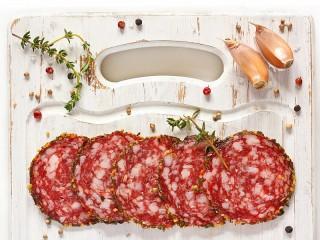Собирать пазл Spicy salami онлайн
