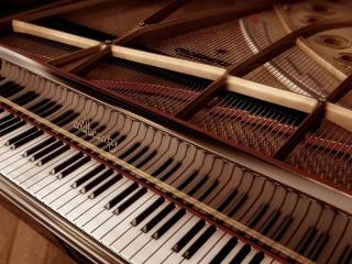 Собирать пазл Open piano онлайн