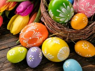 Собирать пазл Easter still life онлайн