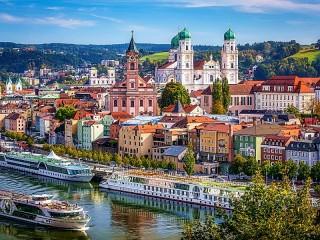 Собирать пазл Passau Germany онлайн
