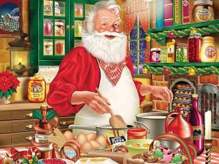 Собирать пазл Cookies from Santa онлайн