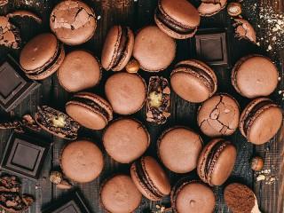 Собирать пазл Biscuits with hazelnuts онлайн