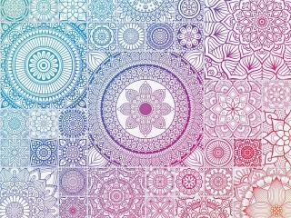 Собирать пазл Color transition онлайн