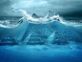 Собирать пазл Pyramids under water онлайн