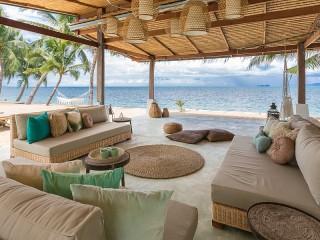 Собирать пазл The beach bungalows онлайн