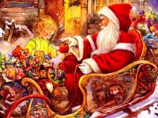 Собирать пазл Gift for Santa онлайн