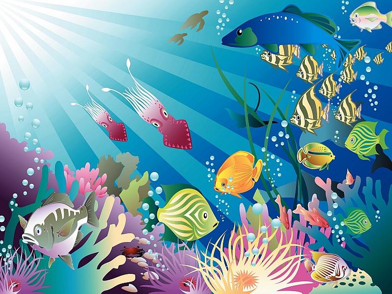 Rompecabezas Recoger rompecabezas en línea - Podvodniy mir