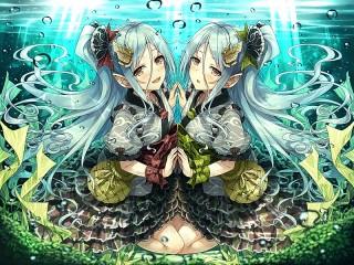 Собирать пазл Underwater reflection онлайн