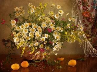 Собирать пазл Wild flowers онлайн