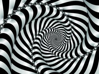 Собирать пазл Striped fractal онлайн
