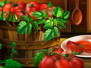 Собирать пазл Tomatoes онлайн
