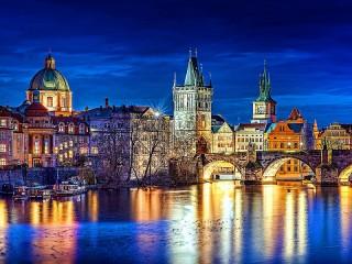 Собирать пазл Prague Czech Republic онлайн
