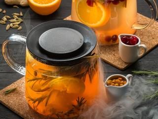 Собирать пазл Spicy drink онлайн