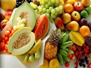 Собирать пазл Variety of fruits онлайн