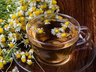 Собирать пазл Chamomile tea онлайн