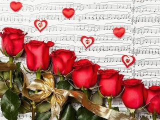 Собирать пазл Rose song онлайн