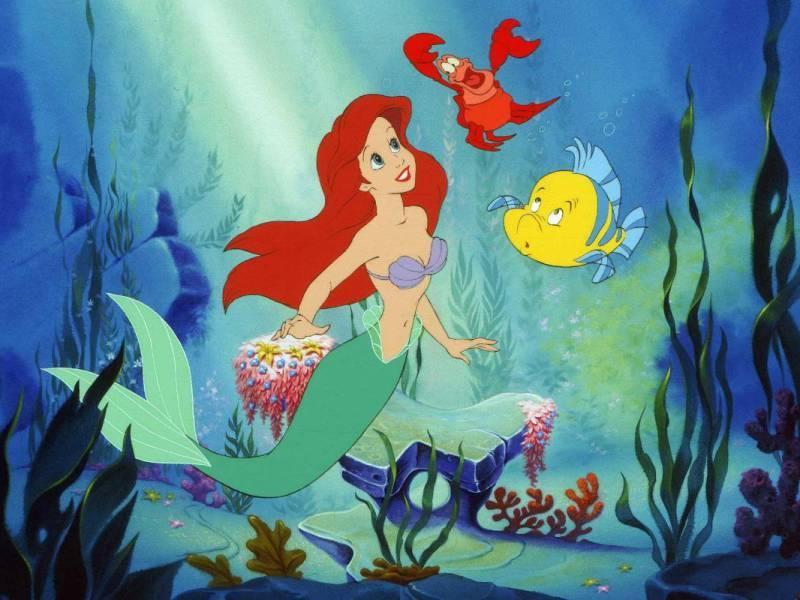 Rompecabezas Recoger rompecabezas en línea - Mermaid Ariel