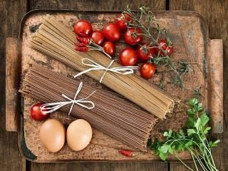Собирать пазл Rye spaghetti онлайн