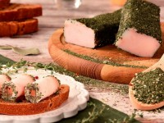 Собирать пазл Lard in spices онлайн