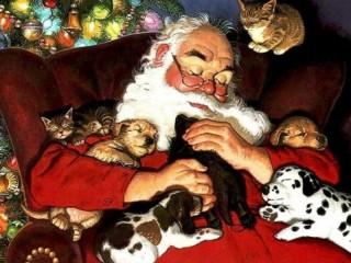 Собирать пазл Santa Claus онлайн