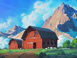 Собирать пазл Farm онлайн