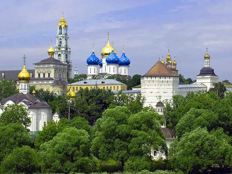 Rompecabezas Sergiyev Posad city