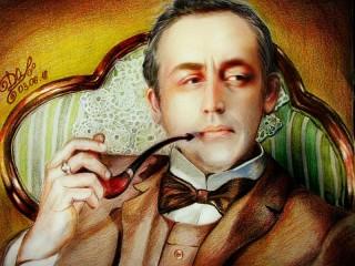 Собирать пазл Sherlock Holmes онлайн