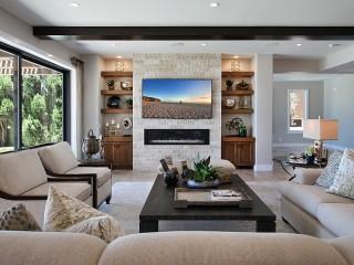 Собирать пазл Modern living room онлайн