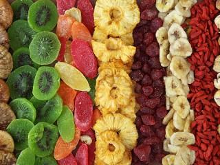 Собирать пазл Dried fruits онлайн