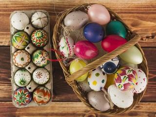 Собирать пазл Gifts for Easter онлайн
