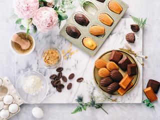 Собирать пазл Fresh cookies онлайн