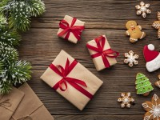 Собирать пазл Three gifts онлайн
