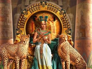 Собирать пазл Egypt queen онлайн