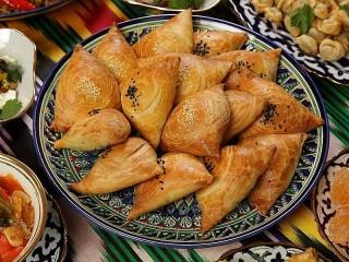 Собирать пазл Uzbek samosa онлайн