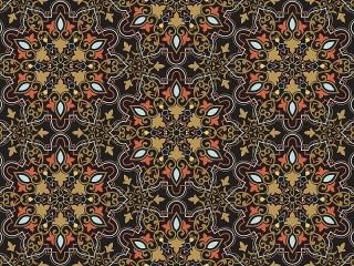 Собирать пазл Pattern on a dark background онлайн