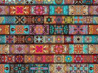 Собирать пазл Patterns онлайн