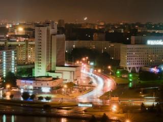Собирать пазл Evening Minsk онлайн