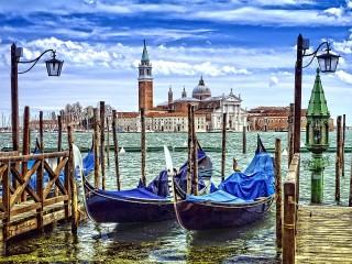 Собирать пазл Venetian landscape онлайн