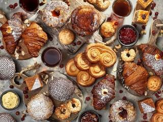 Собирать пазл Pastries онлайн