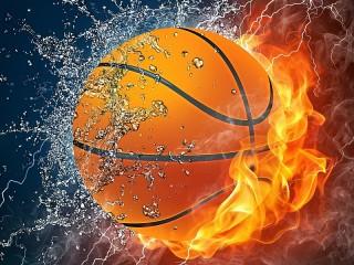 Собирать пазл Water and a flame онлайн