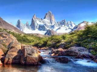 Собирать пазл Patagonia онлайн