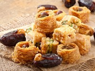 Собирать пазл Oriental sweets онлайн